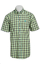 Cinch S/S Men's Fine Weave Shirt 1111109