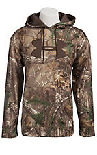 Under Armour Men's Realtree Camouflage Fleece Storm Big Logo Hoodie 1220613946
