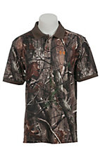 Under Armour® Men's Camouflage Short Sleeve Hunting Polo