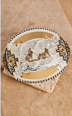 Montana Silversmiths® Team Roper Buckle