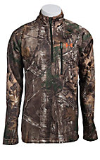 Under Armour Men's Realtree Camouflage Performance �  Zip Fleece Pullover