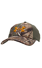 Under Armour® Men's Camo 2-Tone Stretch Fit Cap