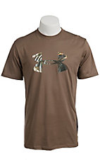 Under Armour® Men's Brown UA Turkey Logo  T-Shirt