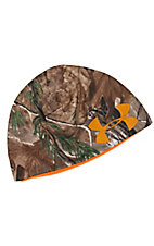 Under Armour® Cold Gear® Realtree Camo and Orange Reversible Beanie