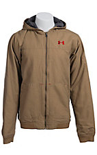 Under Armour Men?s Saddle UA Burley Hooded Jacket 1238347257