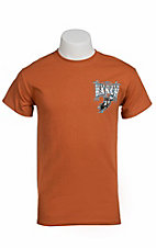 Cowboy Hardware® Burnt Orange Bull Rider Ranch S/S Tee