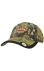 Justin Boots® Mossy Oak Break Up Camo 12 Gauge Cap