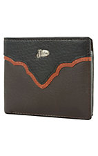 Justin® Brown Bifold Wallet w/ Emblem