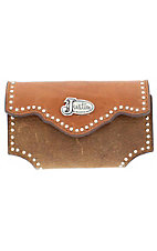 Justin Grizzly and Copper Brown with Silver Studs Cell Phone Case