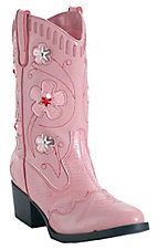 Roper® Childrens Pink Light Up Western Fashion Boots