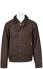 Outback Trading Co. Brown Oilskin Trailblazer Jacket