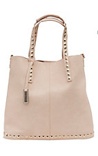 Urban Originals Nude Lennox with Gold Studs Handbag