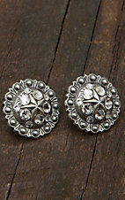 M&F Western Products Inc® Star Berry Concho Earrings