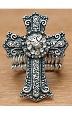 M&F Western Products Inc® Cross Scroll Stretch Ring