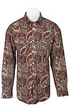Panhandle Slim® Men's L/S Western Snap Shirt 30S3810MU