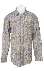 Panhandle Slim® Men's L/S Western Snap Shirt 30S3813MU