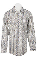 Panhandle Slim® Men's L/S Western Snap Shirt 30S3820MU