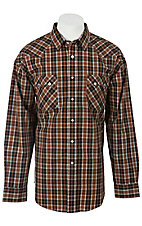 Panhandle Slim® Men's L/S Western Snap Shirt 30S3825