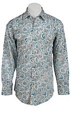 Panhandle Slim® Men's L/S Western Snap Shirt 30S3831