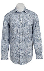 Panhandle Slim® Men's L/S Western Snap Shirt 30S3832