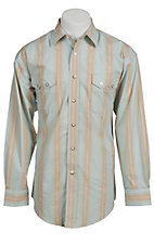Panhandle Slim® Men's L/S Western Snap Shirt 30S3833