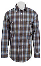 Panhandle Slim® Men's L/S Western Snap Shirt 30S3835