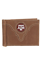 Danbury® Collegiate Collection™ Texas Aggies Brown Bi-fold Wallet