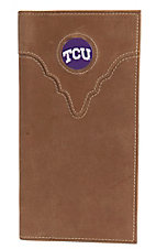 Danbury® Collegiate Collection™ TCU Brown Rodeo Wallet