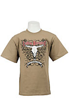Cowboy Hardware® Boy's Sand Built Cowboy Tough Short Sleeve Tee