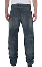 Wrangler® 20Xtreme™ No.33 Men's Barley Blue Relaxed Fit Straight Leg Jean- Tall Length