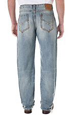 Wrangler 20Xtreme Limited Edition No.33 Men's Chute Fighter Relaxed Fit Straight Leg Jean- Tall Length