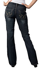 Cruel Girl® Ladies Landrie Low Rise Boot Cut Jean