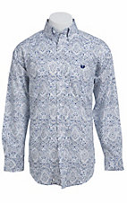 Panhandle Slim L/S Men's Fine Weave Shirt 36D7960