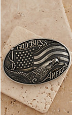 M&F Western Products Inc.® Nocona God Bless America Buckle 37016