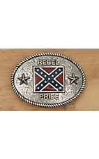 M&F Western Products® Antique Silver Rebel Pride Buckle 37052