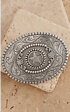 M&F Western Products® Oval Star Buckle