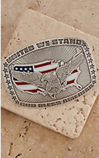 M&F Western Products Inc.® Eagle American Flag Buckle