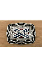 M&F Western Products Inc.® Rebel Flag Square Buckle