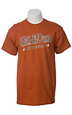 Spectrum® Men's Burnt Orange Git R Done In Texas Short Sleeve Tee