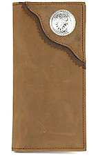 3D® Men's Roper Wallet Bay Apache With Concho