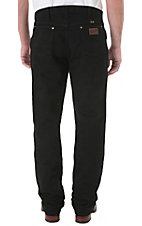 Wrangler® Premium Performance Cowboy Cut™ Black Regular Fit Jeans- Waist Sizes: 44-46