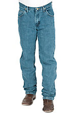 Wrangler® Cowboy Cut Mid Stone Regular Fit Tall Jeans