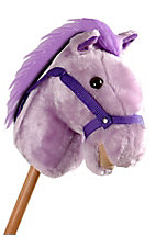 M&F® Purple Talking Stick Horse