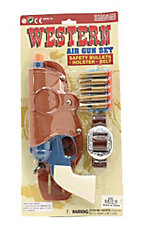 M&F® Western Air Gun and Holster Toy Set