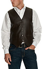 Scully® Brown Snap Lamb Vest