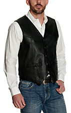 Scully® Black Snap Lamb Vest