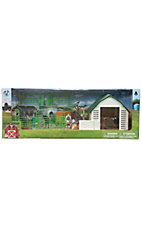 M&F® Bigtime Barnyard™ Farmer and Cows Toy Set