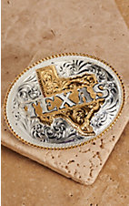 Montana Silversmiths® Large Oval Texas Buckle