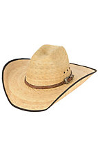 Cavenders® 5X Jackson Bound Edge Palm Leaf Cowboy Hat