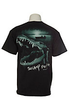 Swamp People Men's Black Gator T-Shirt